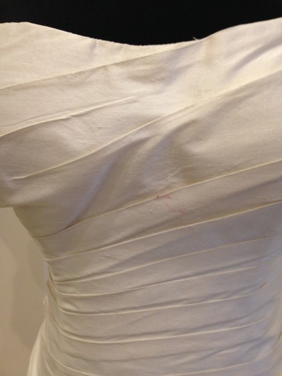 Martina Liana Silk Dupioni 424 Modern Wedding Dress Size 12 (L) Image 4