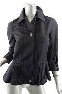 Vionnet Barneys Shaped Black Jacket