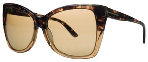 Tom Ford Tom Ford Tortoise Gradient Square Sunglasses