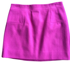 J.Crew Mini Skirt Fuchsia