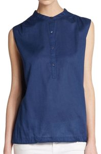 Eileen Fisher Button Down Shirt Blue