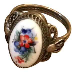 Other Silver mettal with Enamel Russian Vintage 'Finift''