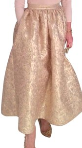 Christian Siriano Skirt Pink gold