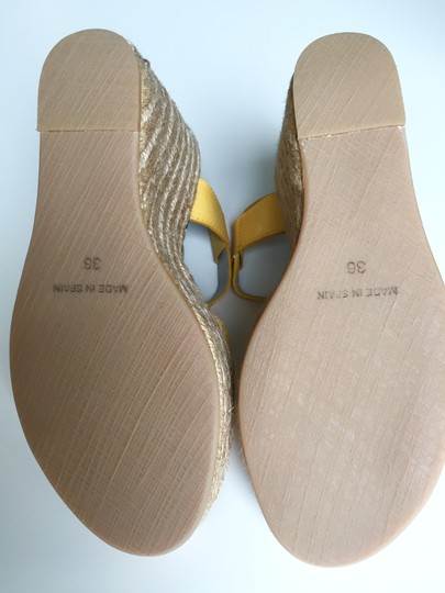 Marc by Marc Jacobs Sandals Platform Leather yellow Wedges Image 3