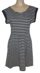 French Connection short dress Blue/White on Tradesy