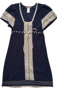 Nanette Lepore short dress Navy Day Lace Knit on Tradesy