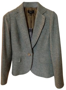 Talbots Green tweed Blazer