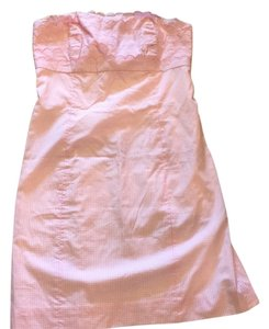 Lilly Pulitzer short dress Lilly's Pink Gingham on Tradesy