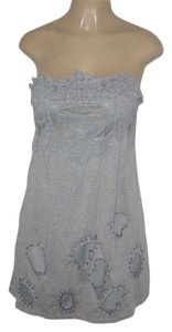 Forla Paris short dress Grey on Tradesy