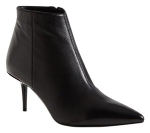Burberry Brit Leather Bootie black Boots