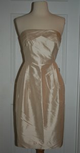 J.Crew Caribbean Sand J.crew Erin Dress In Silk Dupioni Size 6 Caribbean Sand Dress