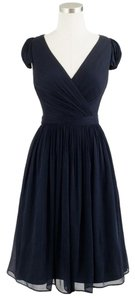 J.Crew Silk Chiffon Full Coverage Wedding Bridesmaid Dress