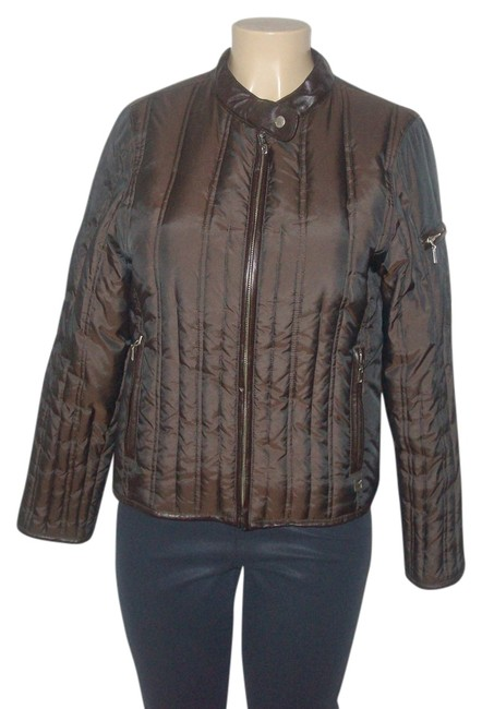 Preload https://img-static.tradesy.com/item/14480470/michael-kors-brown-nylonpolyester-blend-leather-trim-feather-down-fill-quilted-puffer-puffyski-coat-0-1-650-650.jpg
