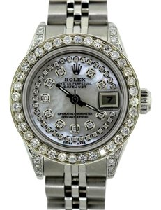 Rolex LADIES ROLEX DATEJUST 2.9CT DIAMODN WATCH WITH ROLEX BOX & APPRAISAL