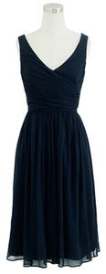 J.Crew Silk Chiffon Bridesmaid Wedding A Line Dress