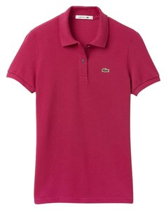 Lacoste T Shirt Bright Pink