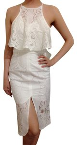 & Other Stories short dress ivory on Tradesy