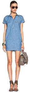 NLST short dress Blue Limited Edition on Tradesy