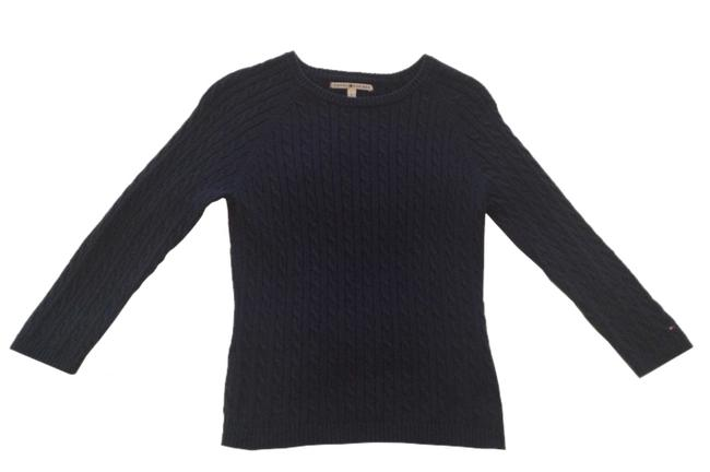 Tommy Hilfiger Cabled 100% Cotton Preppy Sweater