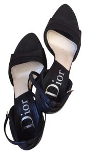 Dior Italy Christian Heels black Formal