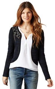 American Eagle Outfitters Space-dye Embroidered Party Date Night Night Out Cardigan