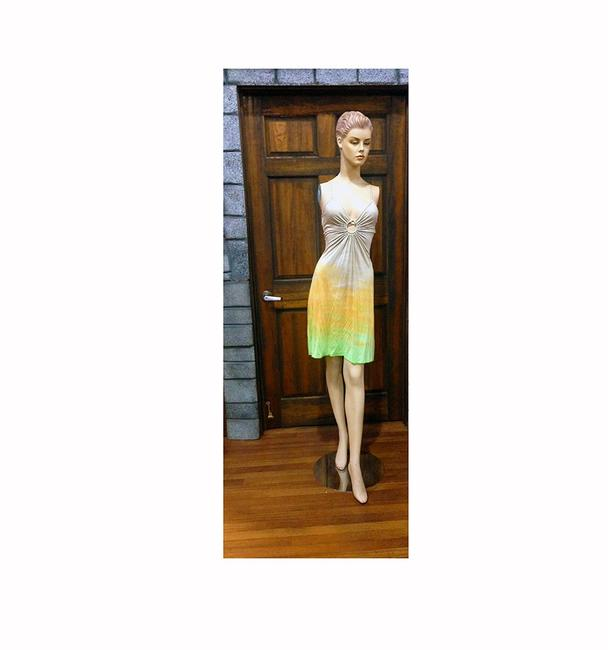 Michelle Jonas short dress Tie Dye Keyhole on Tradesy