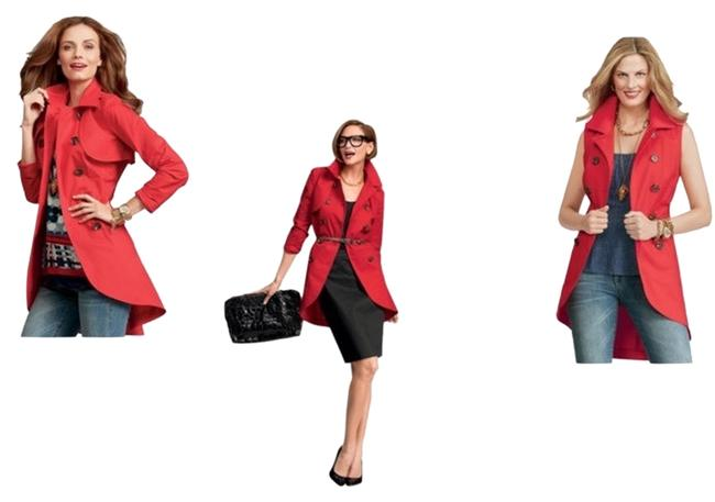 Item - Red Convertible Style #334 Jacket Size 10 (M)