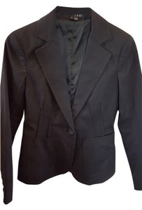 Theory Like New Cotton Black Blazer