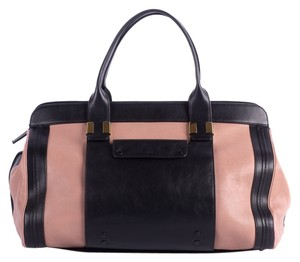 Chloé Satchel in Black & Mauve
