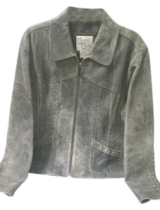 Cripple Creek Leather Distressed Brown Leather Jacket
