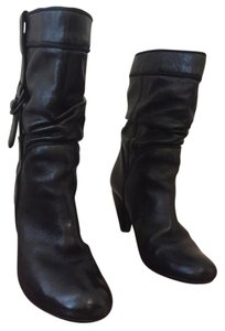 Fornarina Boot Calf Leather Black Boots