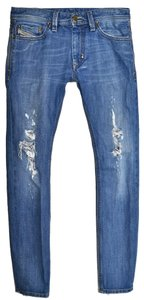 Diesel Mens Mens Thanaz 32 32 Skinny Jeans-Distressed