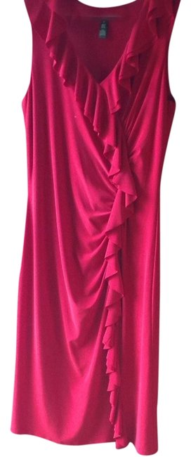 Ralph Lauren Ruffles Party Fun Event Evening Dress