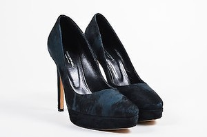 Tania Spinelli Ponyhair Black Pumps