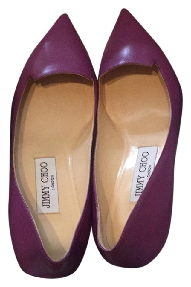 WOMEN Pumps Jimmy Choo Magenta Allure Pumps WOMEN Not so expensive c20400