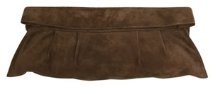Maison Margiela Suede Brown Clutch