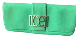 Iceberg Green Clutch