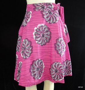 Odille Anthropologie Skirt Pink