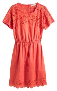 Madewell short dress Rust on Tradesy