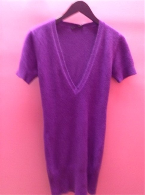 LF short dress Purple on Tradesy