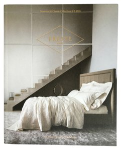 Frette Frette Bed Linens Catalog Lookbook Seasonal and Classic Collection S/S 2016