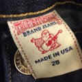 True Religion Dark Designer Gifts For Her Spring Straight Leg Jeans Image 3