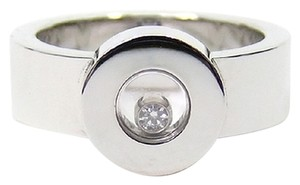 Chopard Chopard 18K White Gold Happy Diamond Icon Ring 823086 US 6