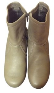 Sanita Leather Ankle Gray Boots