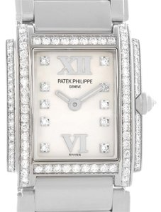 Patek Philippe Patek Philippe Twenty-4 18K White Gold Diamond Ladies Watch 4908/200G-011