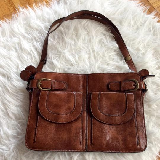 Preload https://img-static.tradesy.com/item/14486965/brown-faux-leather-shoulder-bag-0-3-540-540.jpg