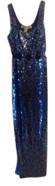 Preload https://item3.tradesy.com/images/new-royal-hand-beaded-polyester-long-formal-dress-size-12-l-14487-0-0.jpg?width=400&height=650