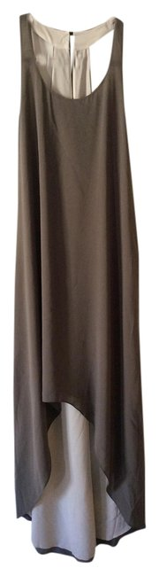 Item - Olive Beige Party Long Night Out Dress Size 2 (XS)