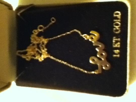 Other Love gold necklace