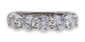 Tiffany & Co. Tiffany&co. Diamond Wedding Band